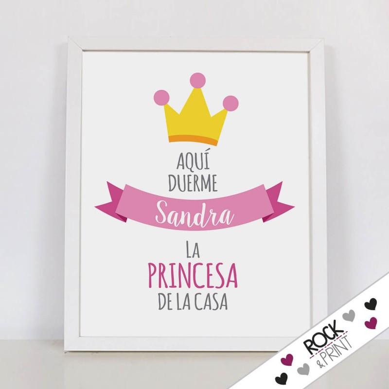 Aquí Duerme la princesa de la casa