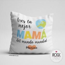 Cojín Mejor Mamá del Mundo