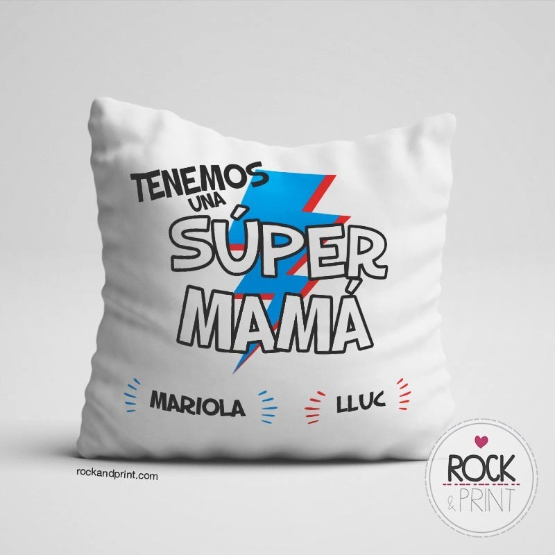 Cojin Super Mama