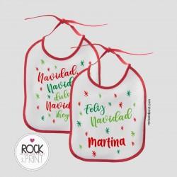 Babero Dulce Navidad