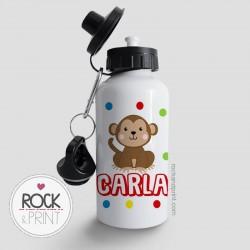 Botella Infantil Mono